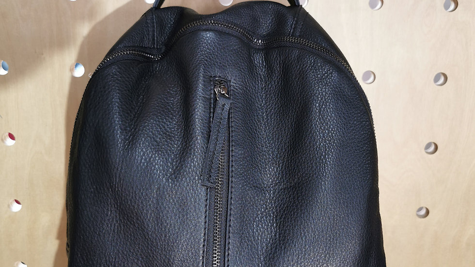 Genuine Leather Backpack LG80380