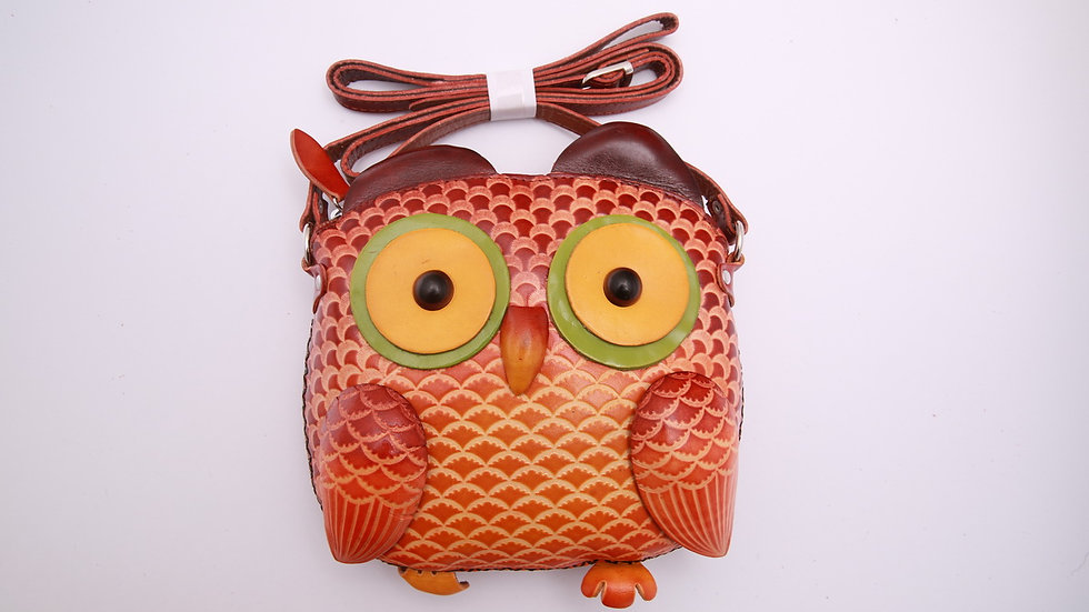 Big Yellow Owl Bag
