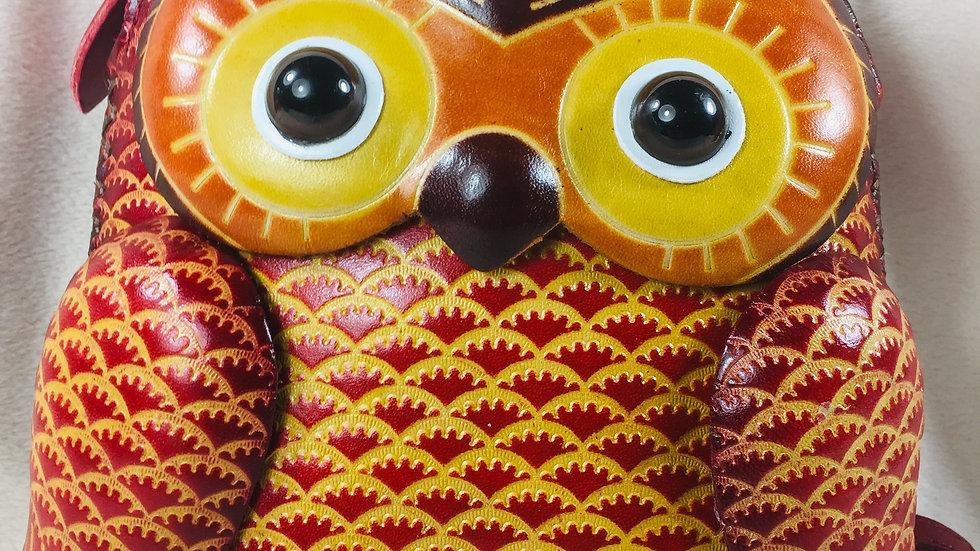 Big Red Owl Bag