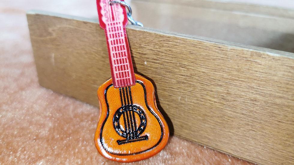 Guitar keyring