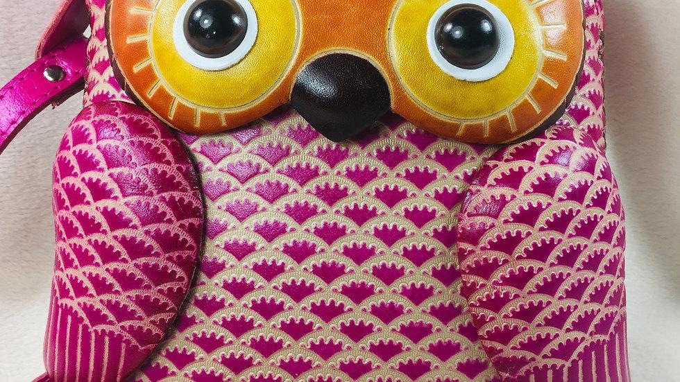 Big PinkOwl Bag