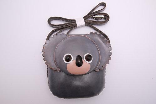 Short Grey Koala Bag