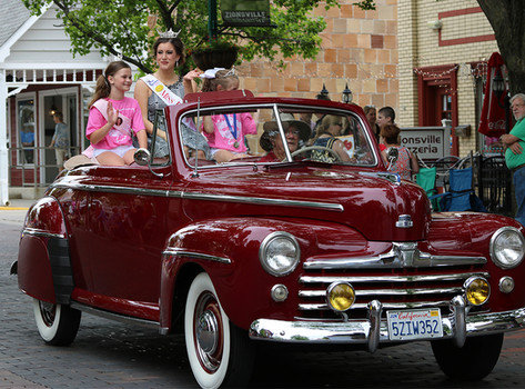 Miss Indiana Pageant Parade