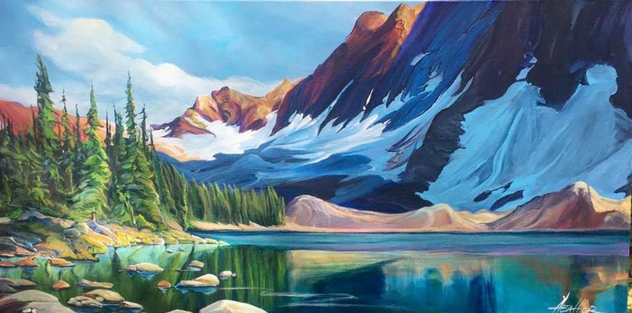 The Abundant Floe 15 x 30 SOLD