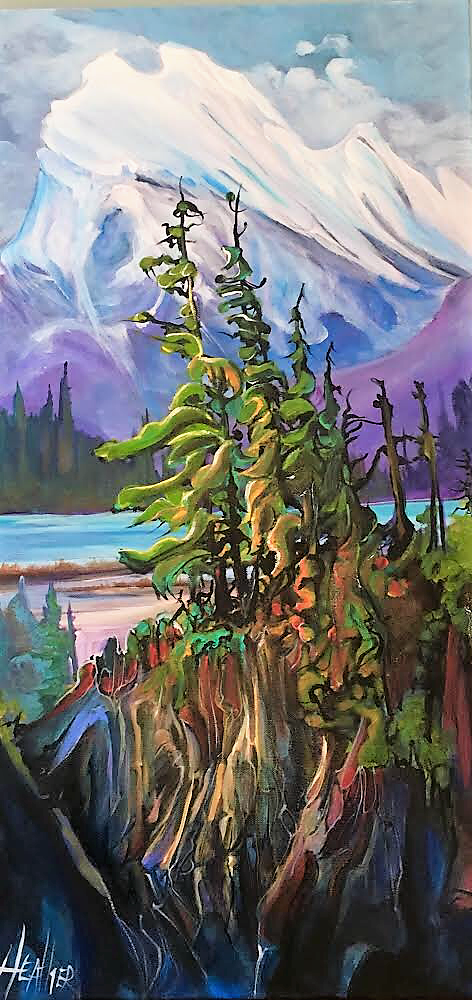 Requiem at Rundle 15 x 30 SOLD