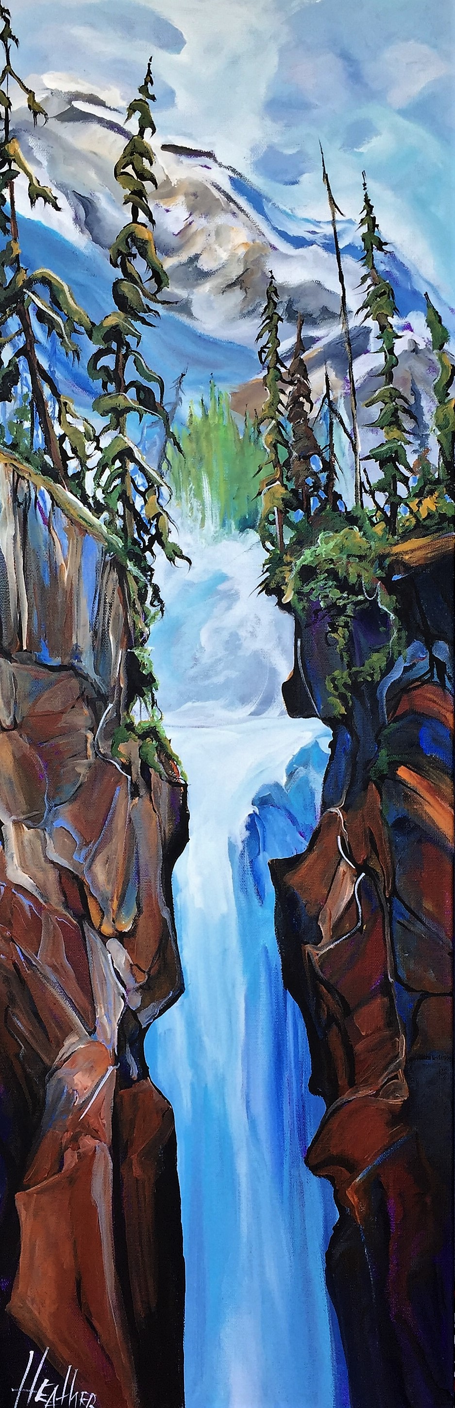 Back Country Gatekeepers 12x36 SOLD