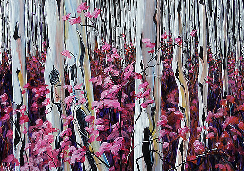 Passion Birch 30 x 48 SOLD