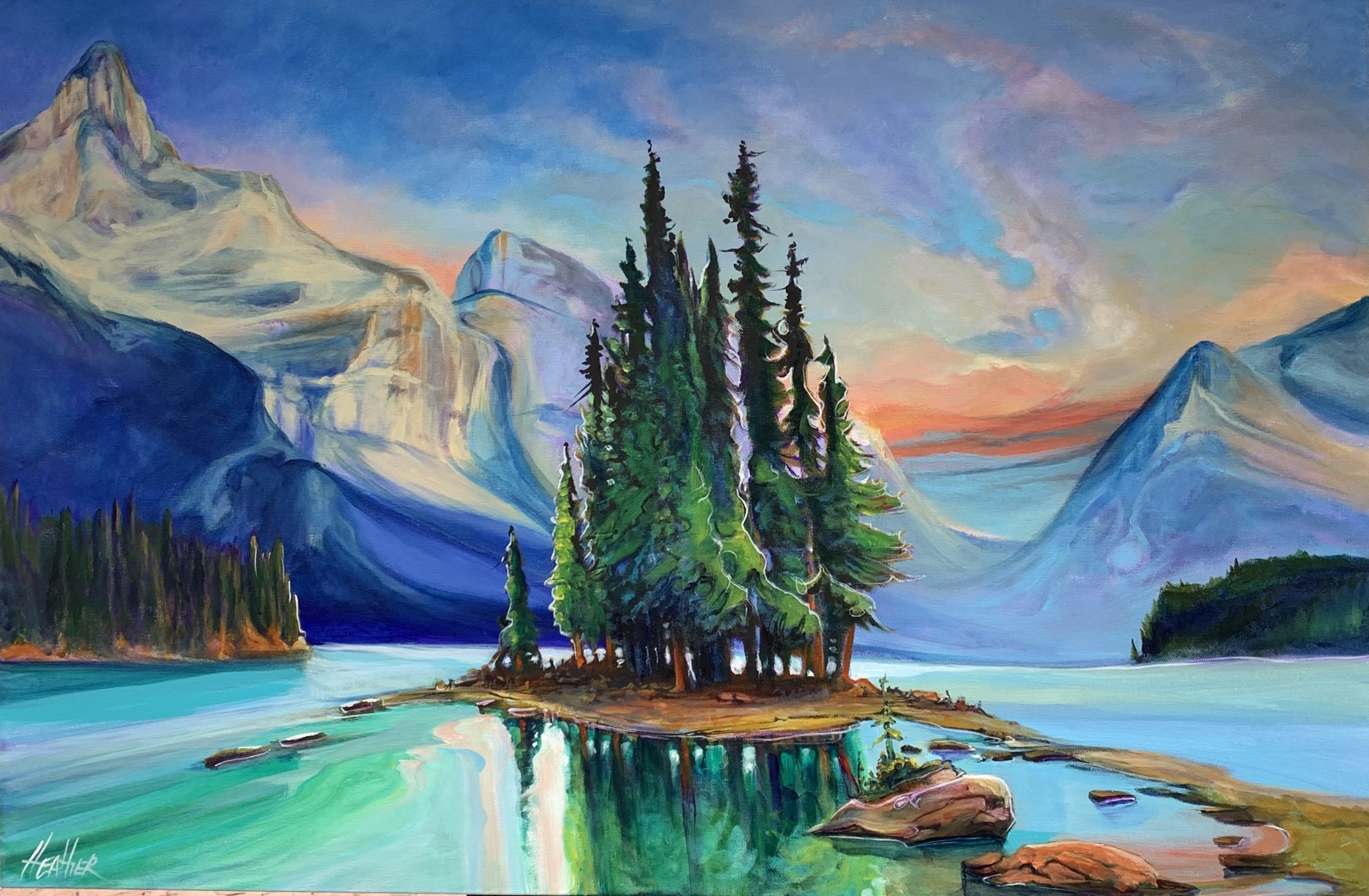 Magic of Spirit Island 24 x 36 $2400