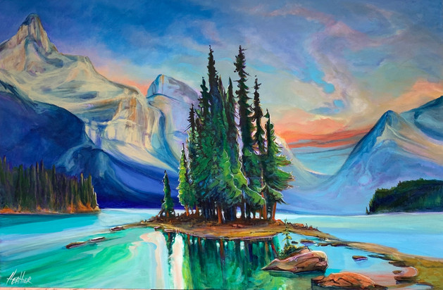 Magic of Spirit Island 24 x 36 $2400