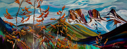 Canmore Colours 16 x 40 SOLD