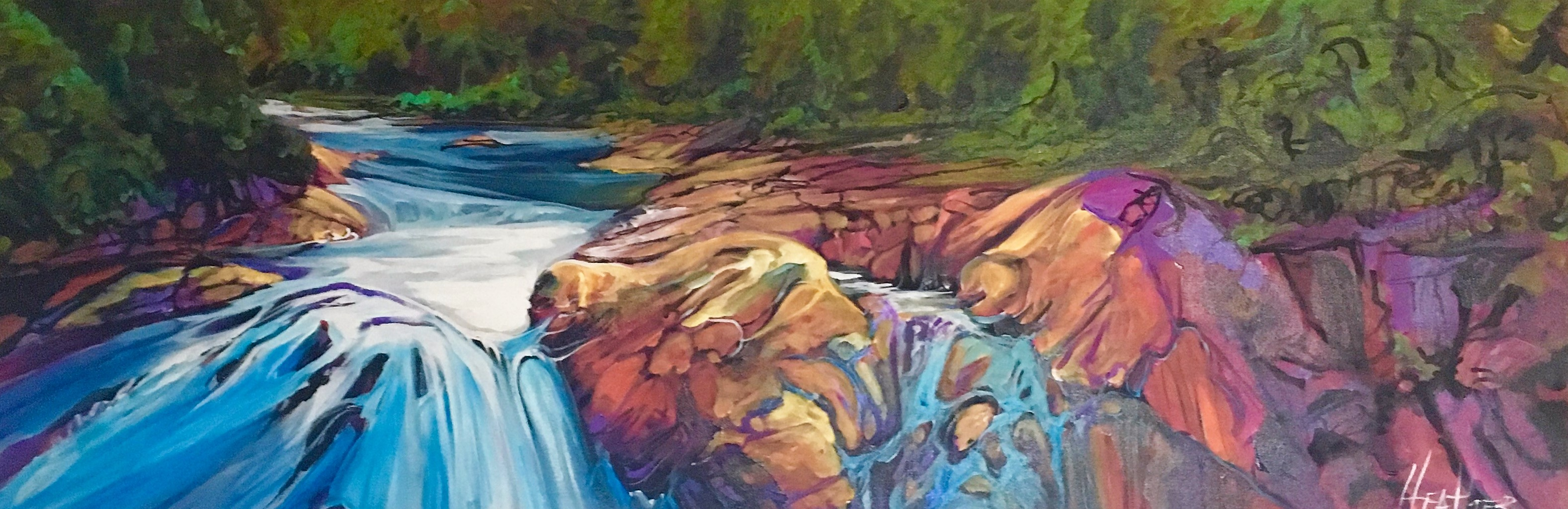 Fresh Water 12 x 36 SOLD