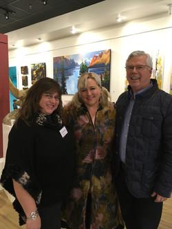 Angus Watt, Heather Pant and Erica