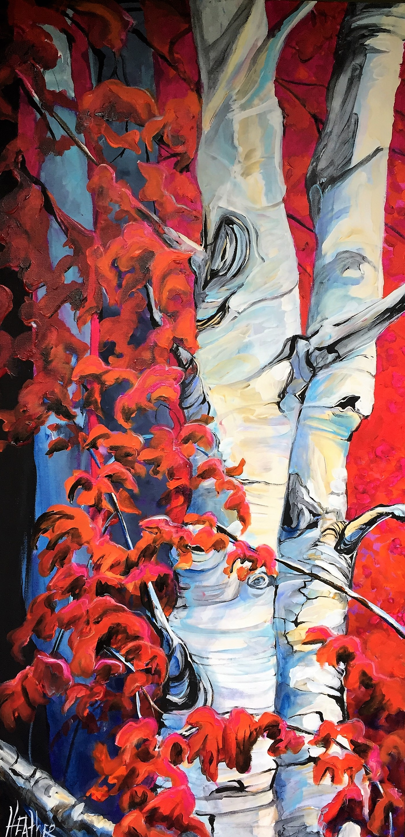 Passionation 24 x 48 SOLD
