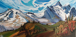 Mountain Music 24 x 48 SOLD