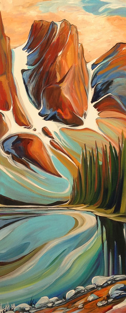 September Dawn Moraine Lake SOLD