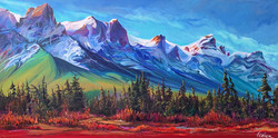 Along the Bow 36 x 72 SOLD