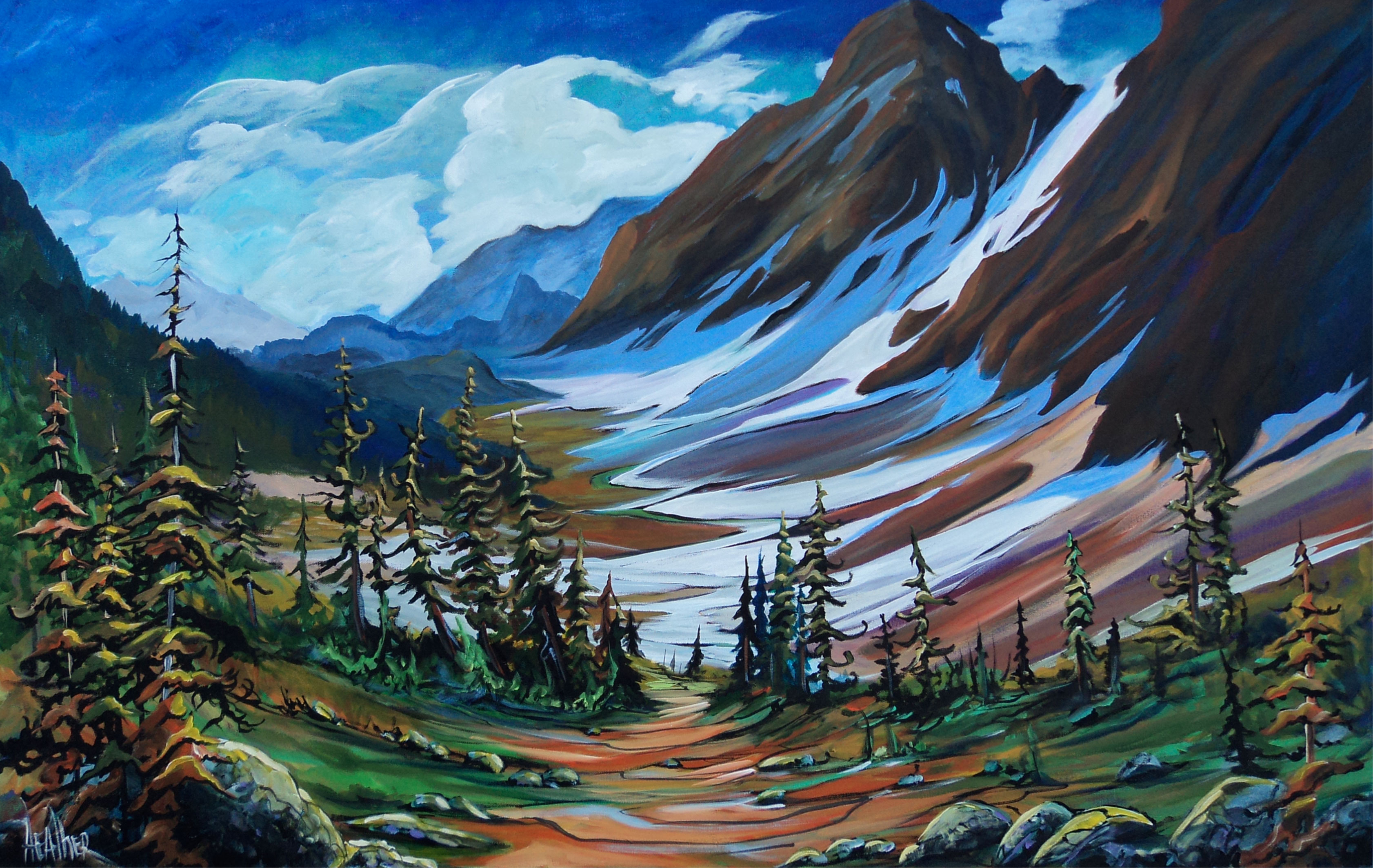 Banff Melody 30 x 48 SOLD