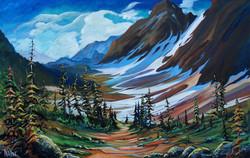 Banff Melody 30 x 48 SOLD