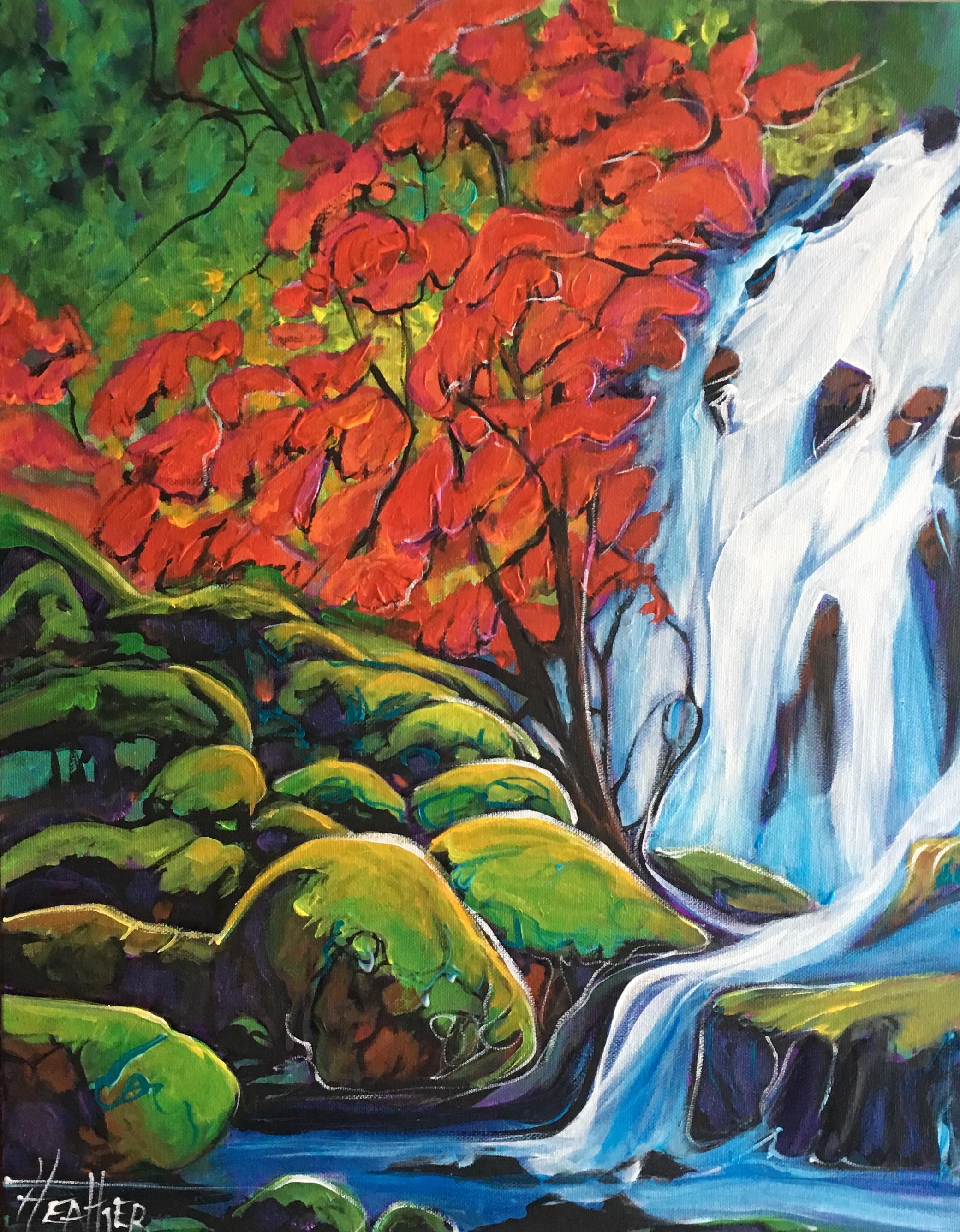 Emerald Springs 16 x 20 $960