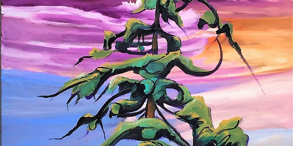 Paint a Pine Acrylics Workshop