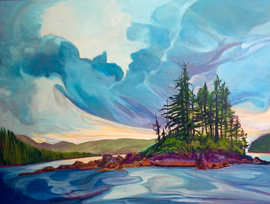 On the Wings of the Wind 36 x 48 $4600