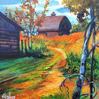 Tranquility of the Homestead 12 x 12 $900