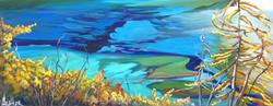 Grassi Lakes Day Dream 16x40..SOLD