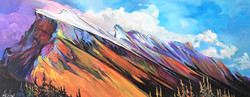 Colossal Mt. Rundle 16 x 40 $1900