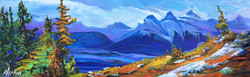 Top of the World 12 x 36 SOLD