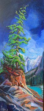 Spirit of the Bow 40 x 16 $2100