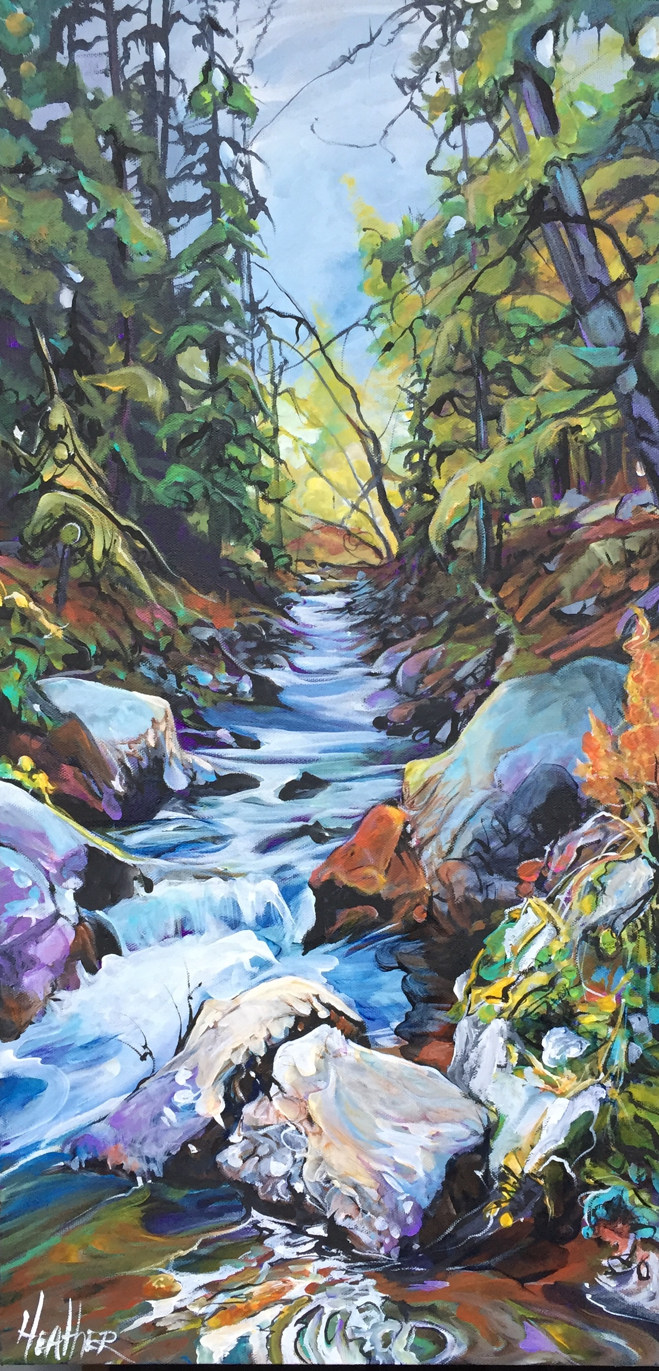 River Rhapsody 15 x 30 SOLD