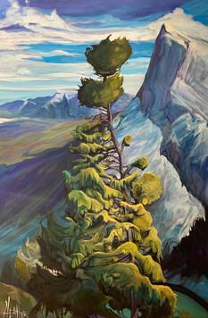 Naomi's Tree 24 x 36 $2400