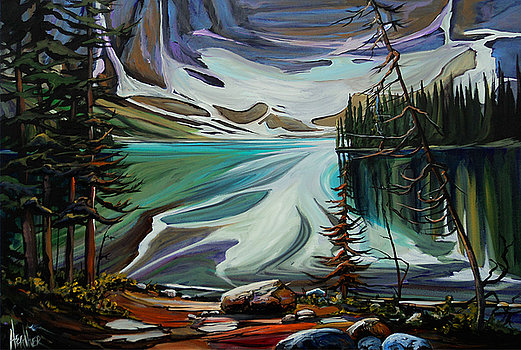 Rawson Lake Splendor 30 x 40 SOLD