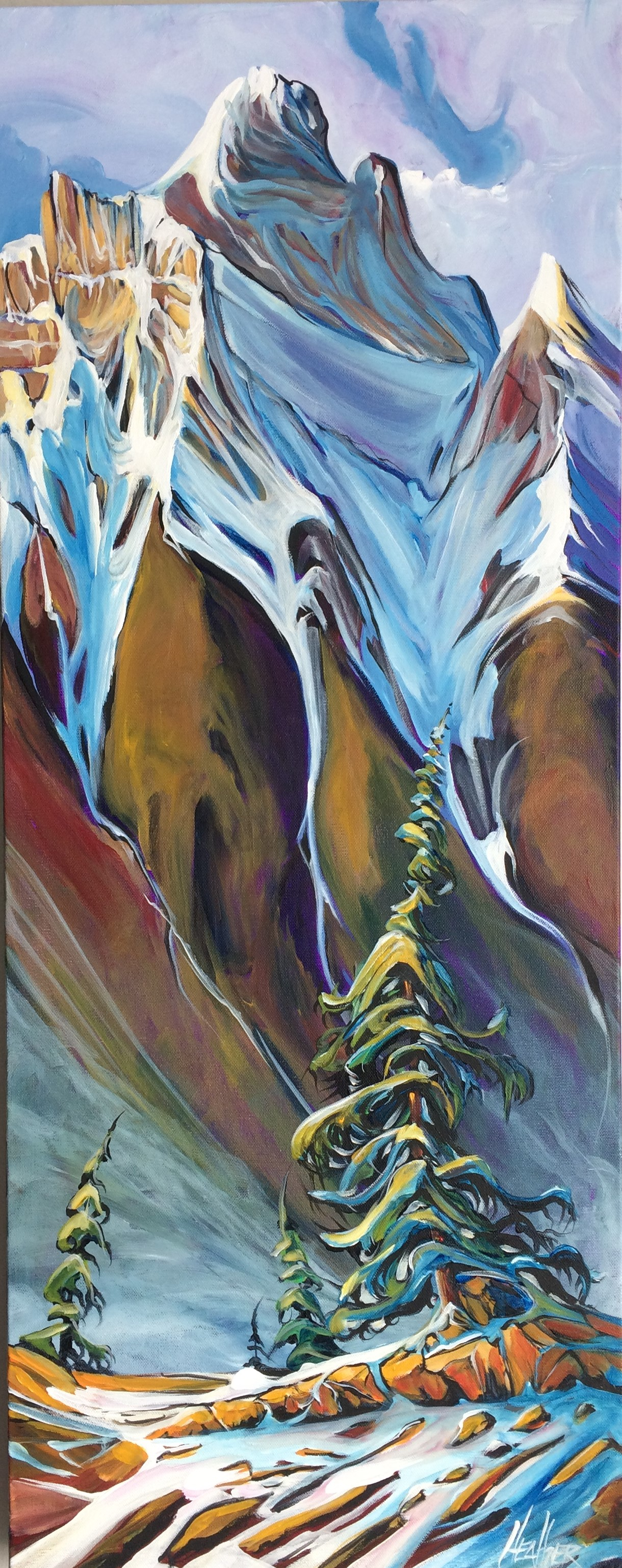 Canmore Ice 16 x 40