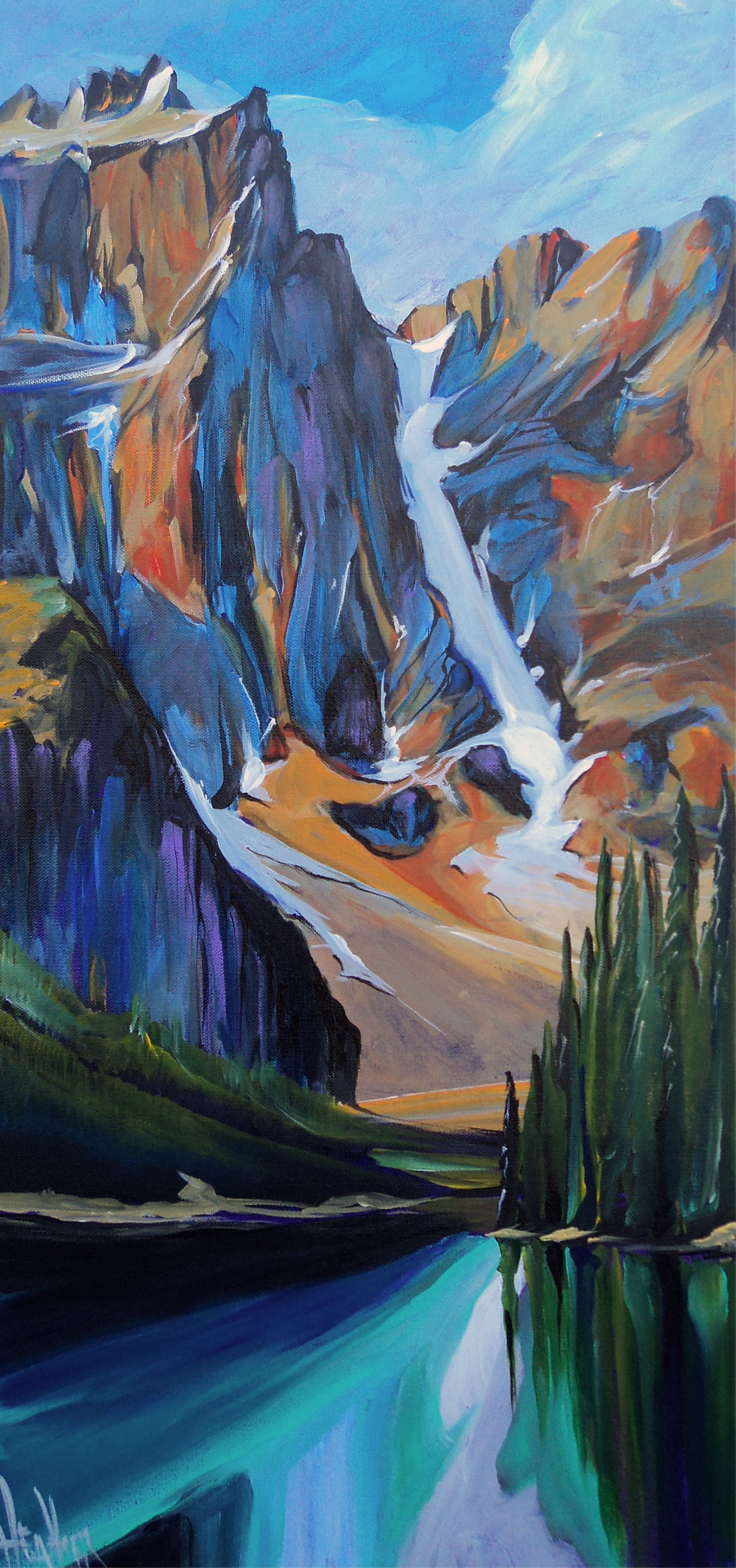 Moraine Eve 15 x 30 Donated