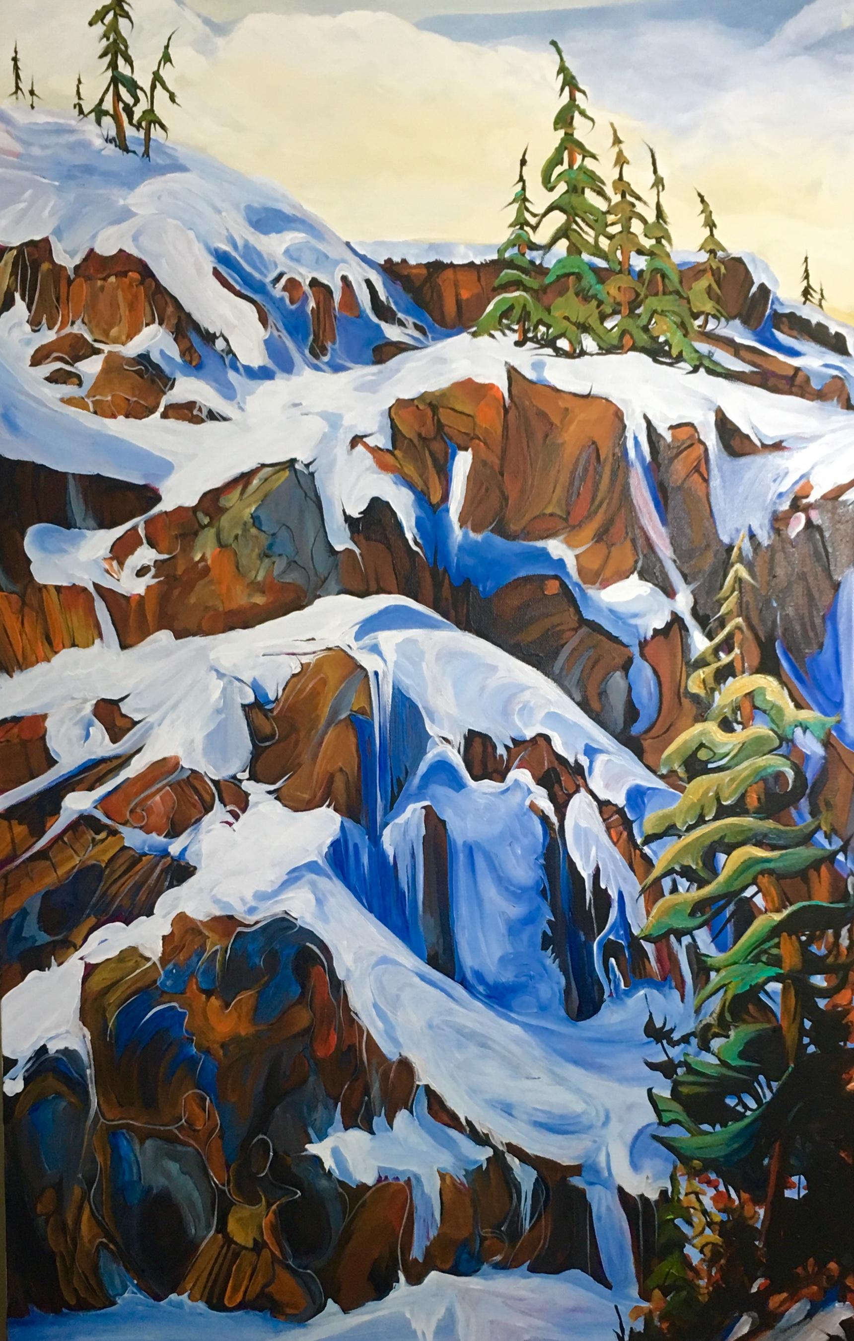 Ice Ice Baby 24 x 36 $2400