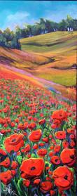 Poppy Love 16 x 40 $2100