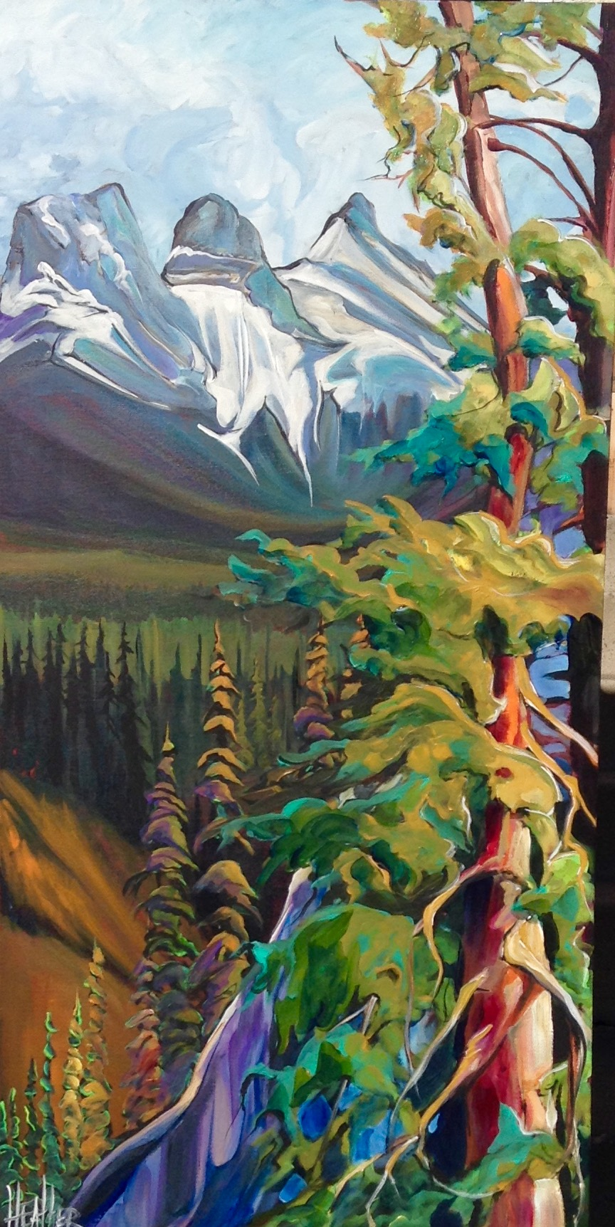 Bow Valley Beauties 24 x 48