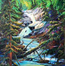 Spirit of the Stream 36 x 36 SOLD