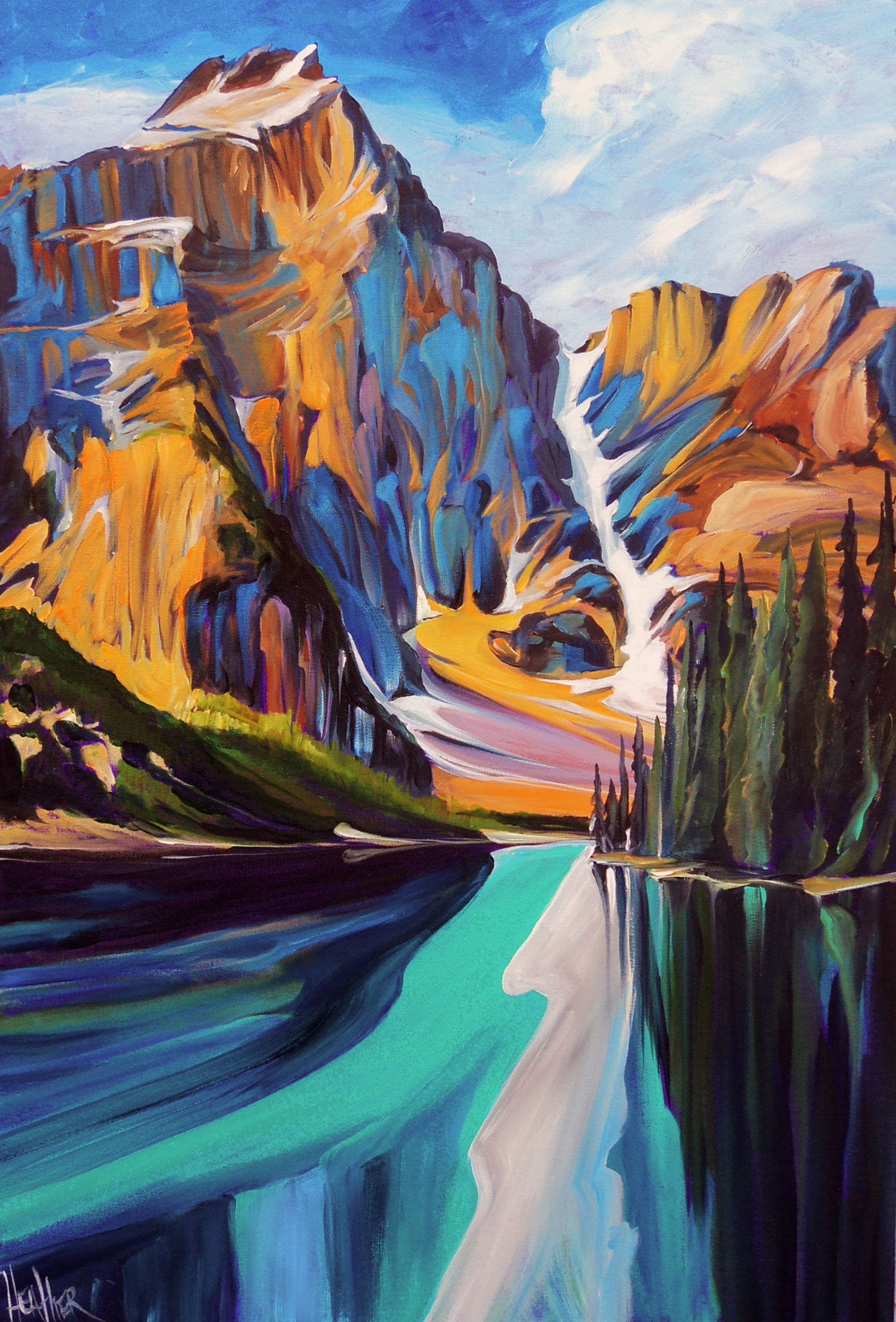 Moraine Magnanimous 24 X 36 SOLD