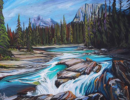Yoho River 36 x 36 SOLD