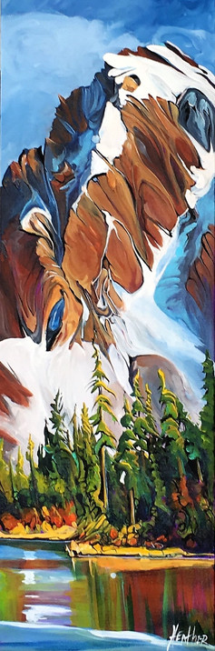 Back Country Melody 12 x 36 $1500