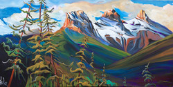 Dance of the Three Sisters 24 x 48