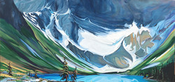 Grand Entrance 24 x 48 SOLD