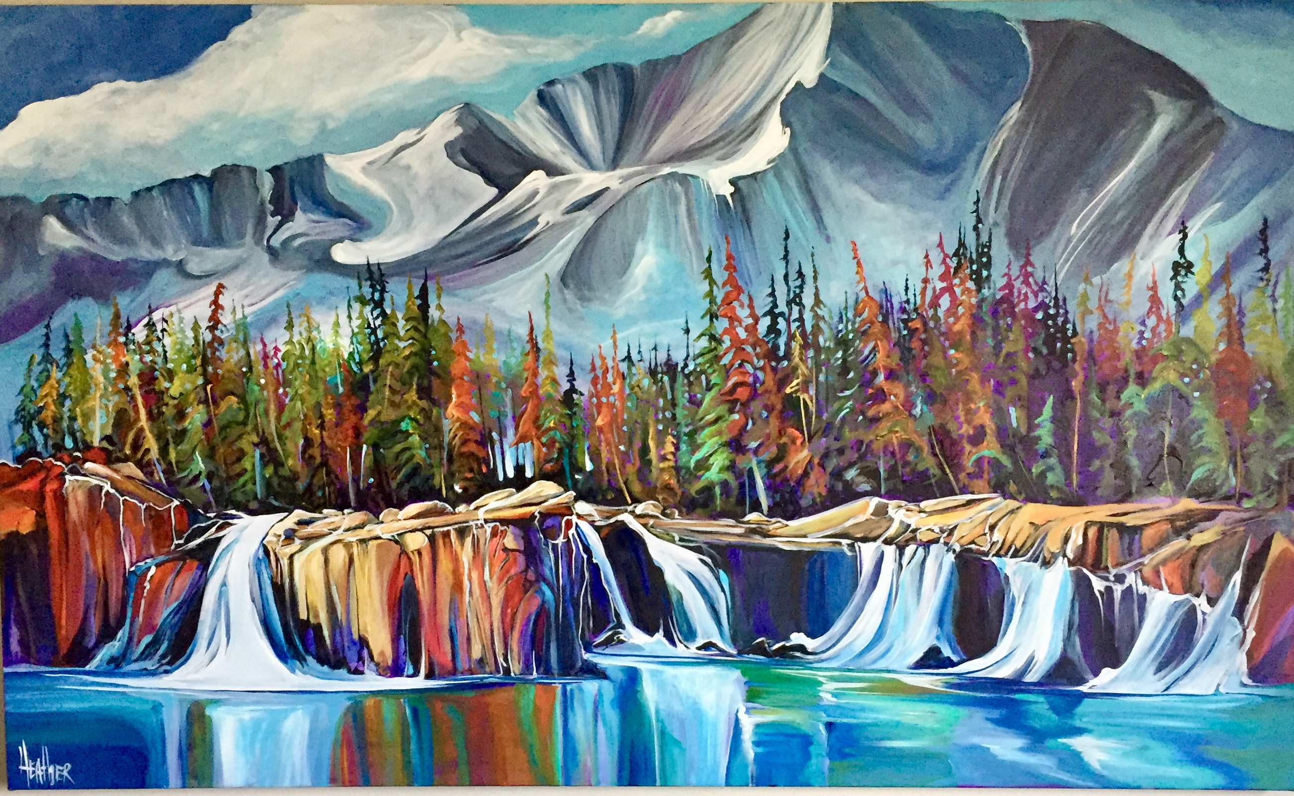Back Country Wilderness 36 x 60 SOLD