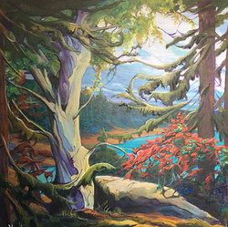 Wind Song 36 x 36 SOLD