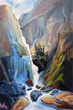 Parting the Way 24 x 36 SOLD