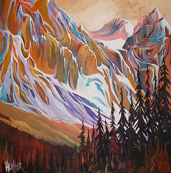 Canmore Strong & Beautiful 48 x 48