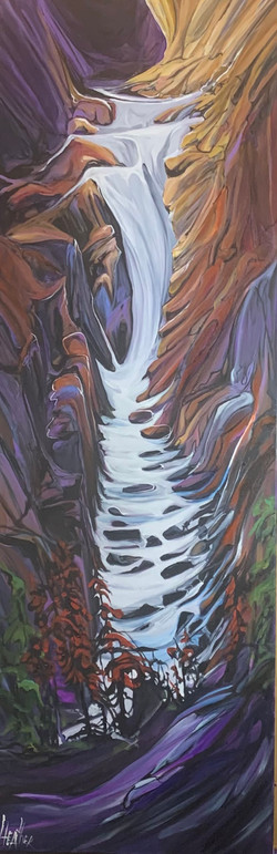 Heartbeat of the Canyon 60 x 20 SOLD