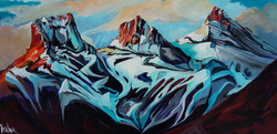 48 x 24 Sibling Rivalry SOLD